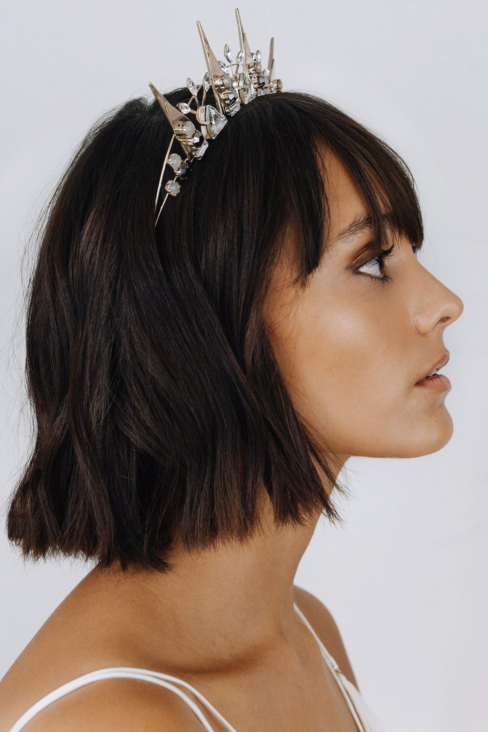 Tilly Thomas Lux Luxury wedding hair crowns and accessories #bridestyle #sparkle #weddinginspo #weddingstyle